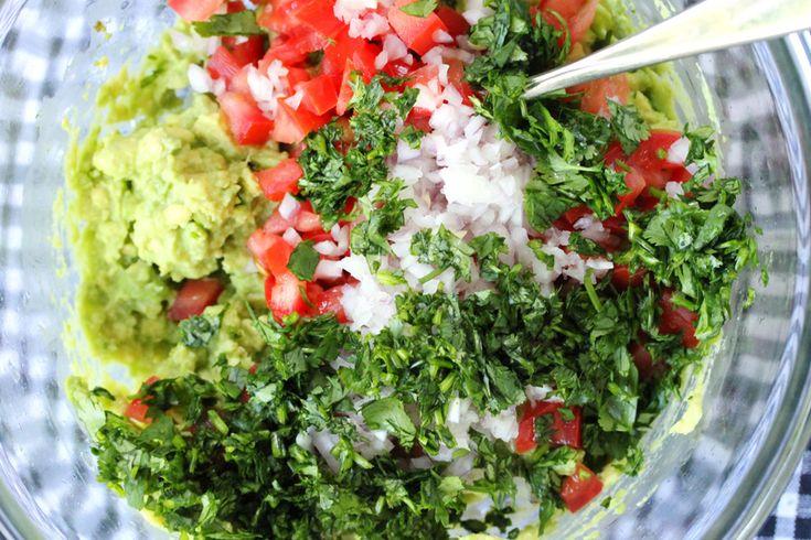 Simple Guacamole Dip | Recipes | Pinterest