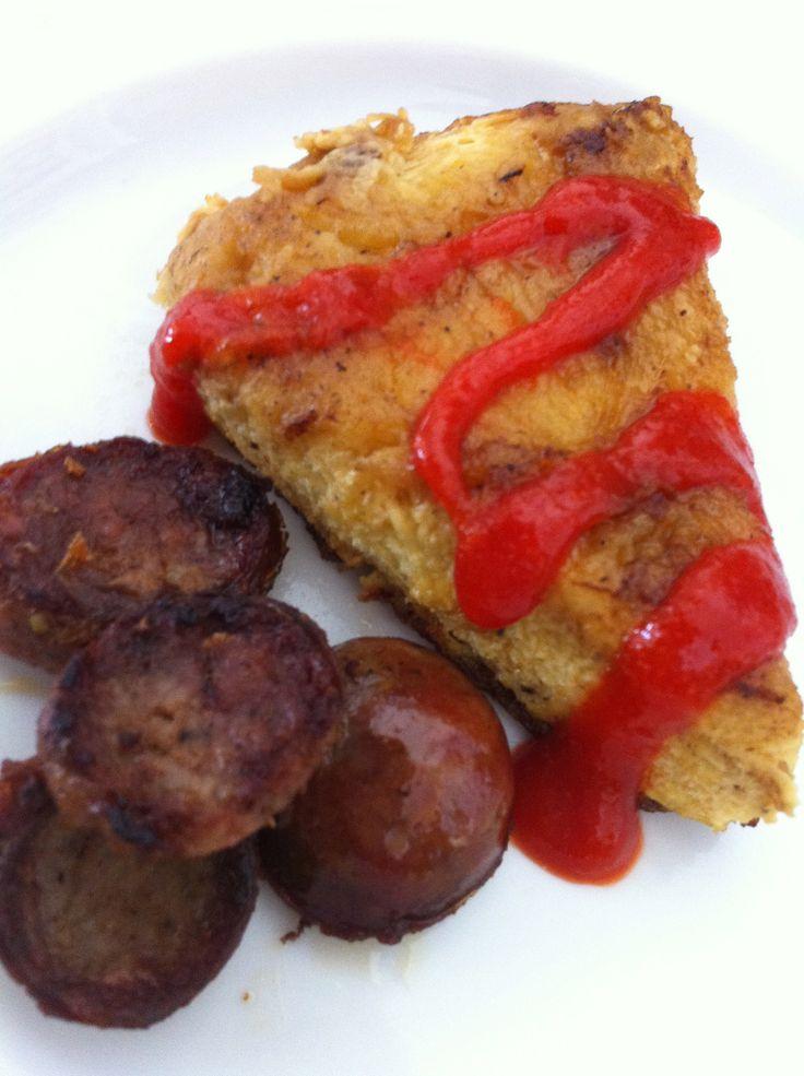 SPAGHETTI SQUASH FRITTATA Paleo, gluten-free & delicious...enough said ...