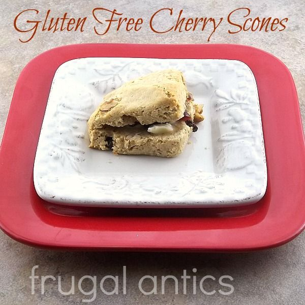 Gluten Free Cherry Scones | Gluten Free | Pinterest