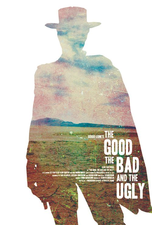 The Good, The Bad, And The Ugly by Jeremy Burns #poster #graphic #photo #treatment