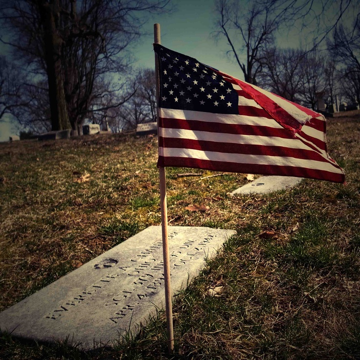 memorial day cemetery pictures