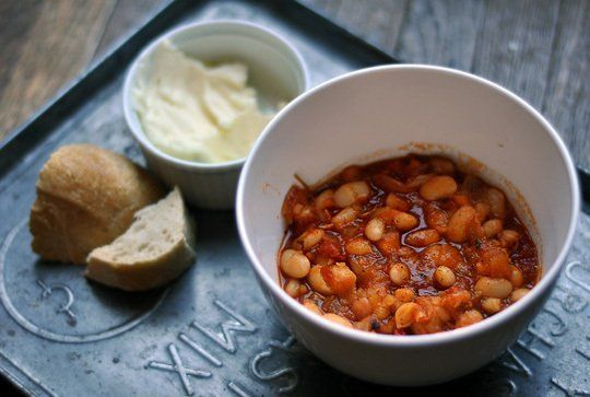 ... Delicious Recipes with Beans Slow-Cooked Tomato and Herb White Beans