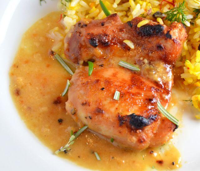 Maple-Dijon Glazed 'Man-Pleasing' Chicken