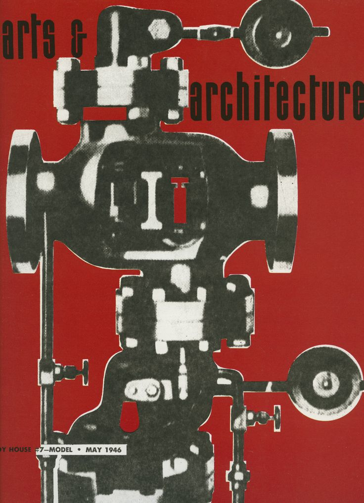 arts architecture magazine cover 1946 covers pinterest. Black Bedroom Furniture Sets. Home Design Ideas