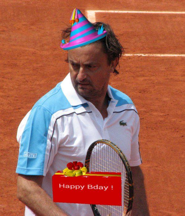 Happy birthday henri leconte henri leconte is a former french
