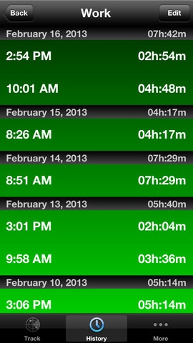 iphone time tracking apps review
