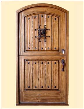 Old world door rustic wooden dutch door dream guest for Old world entry doors