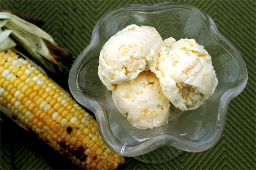 Sweet Corn Ice Cream - Because I want to hold onto summer just a ...