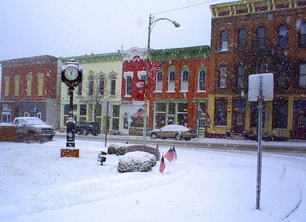Downtown Mechanicsburg, OH