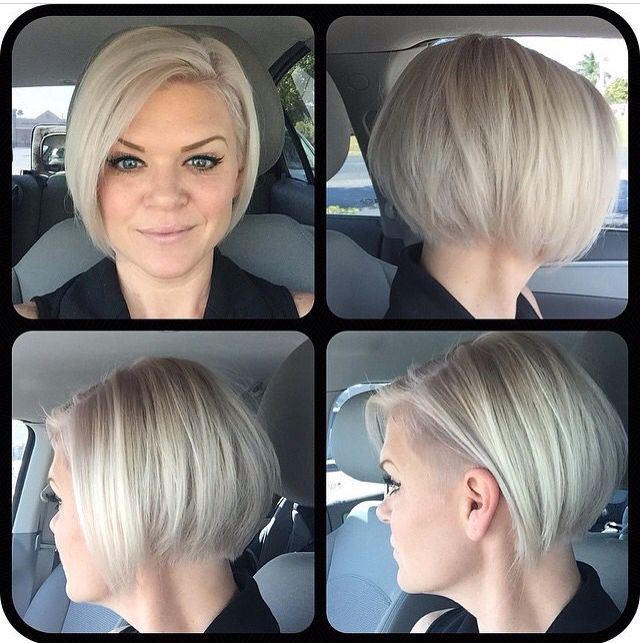 Undercut With Bob Hair Hair Cuts Short Hair Cuts