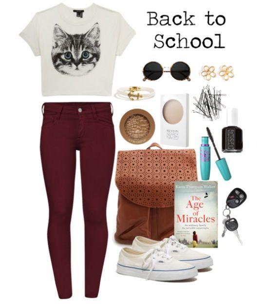 Everyday school fashion | Fashion | Pinterest
