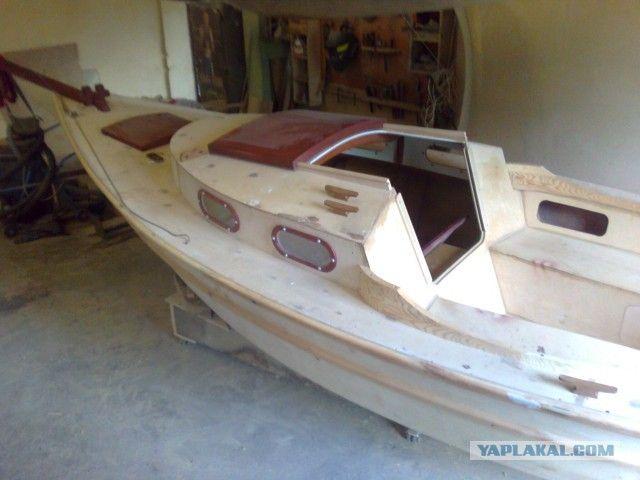 Катера и моторные лодки своими руками 25