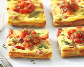 Ranch Style Ham Frittata | Recipes-Breakfast | Pinterest