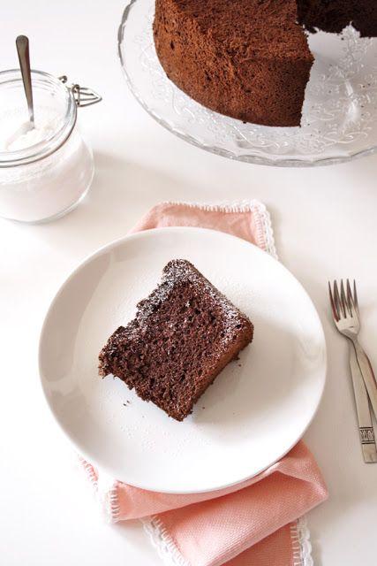 Chocolate Angel Food Cake Recipe — Dishmaps