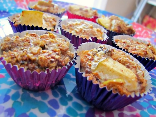 granola apple cinnamon muffins   gimme gimme some oven...   Pinterest
