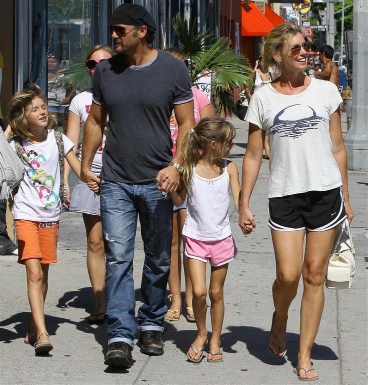Faith Hill and Tim McGraw Children
