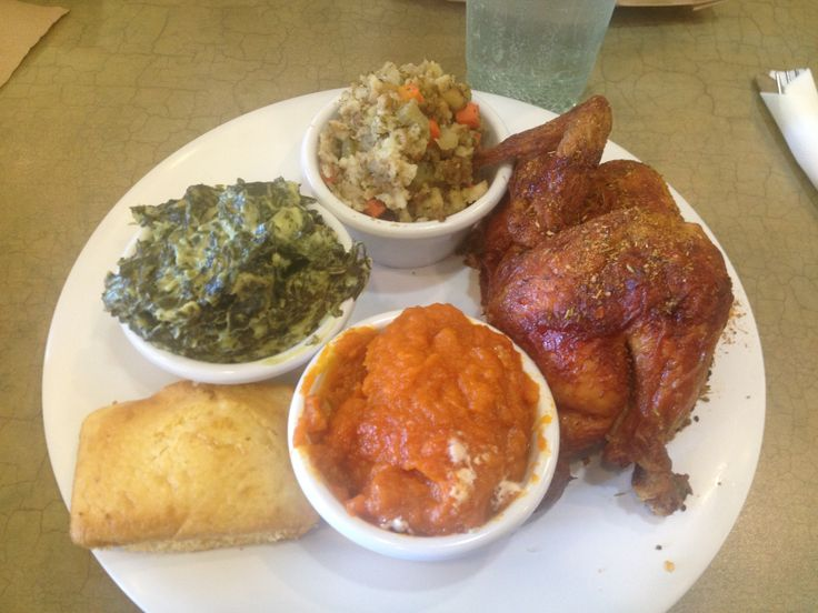 ... of chicken spinach with cheese stuffing sweet potatoes & cornbread