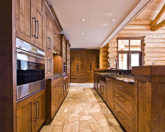 Open Galley Kitchen Dream Home Pinterest