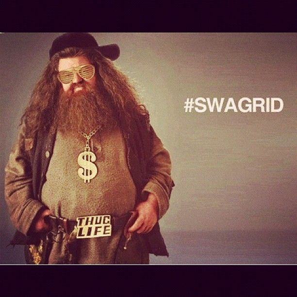 """Yer a gangsta, Harry..."" xD"
