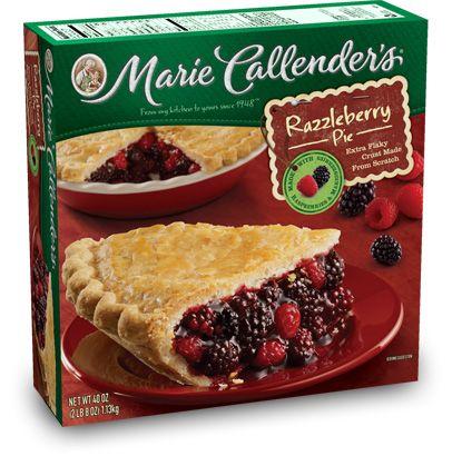 Razzleberry Pie: Fruit Pies | Marie Callender's