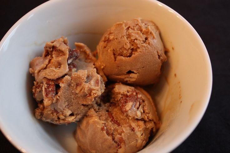 Butterscotch pecan ice cream. | Ice Cream | Pinterest