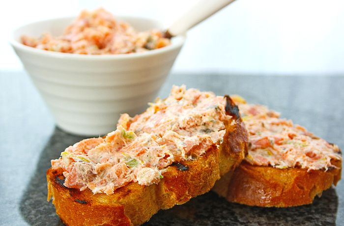 smoked salmon rillettes @ let's feast | appetizers | Pinterest