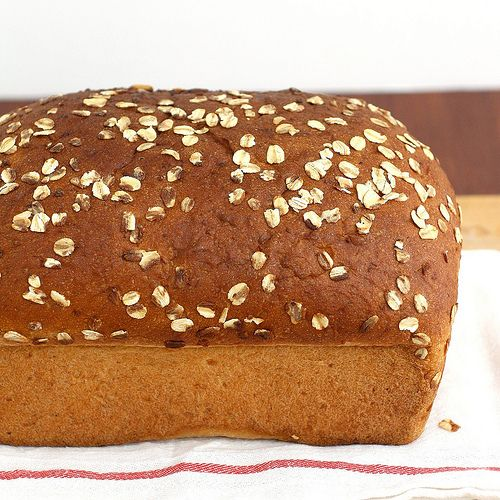 Whole Wheat Oatmeal Buttermilk Bread | Tracey's Culinary Adventures