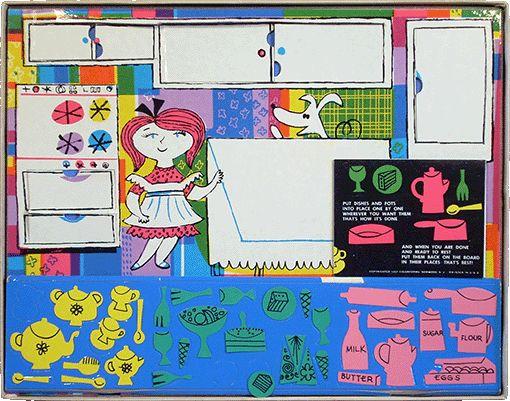 Miss Cookie S Kitchen Colorforms
