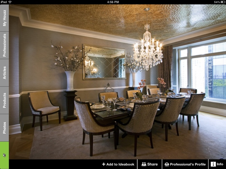 Houzz Dining Room Color And Chandelier Home Sweet Home Pinterest