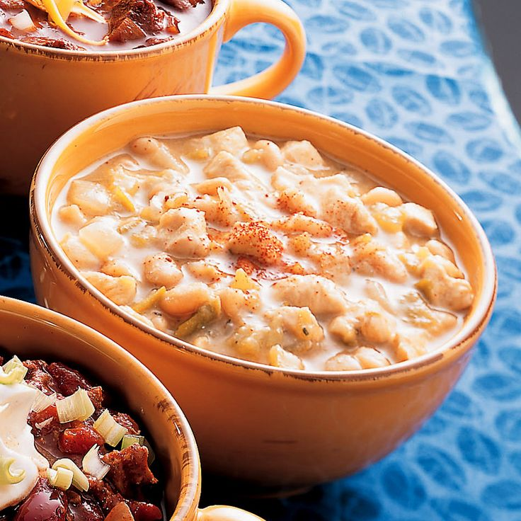 Hearty chicken chili is minutes away with cooked chicken, McCormick ...