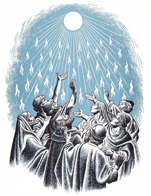 pentecost scripture catholic