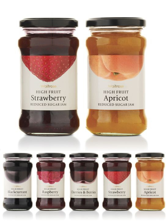 Waitrose High fruit jams