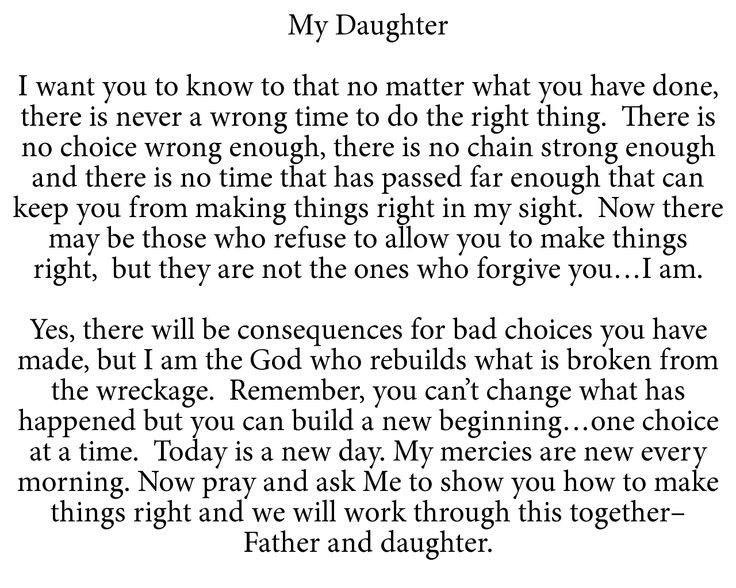 To My Daughter   God above all   Pinterest