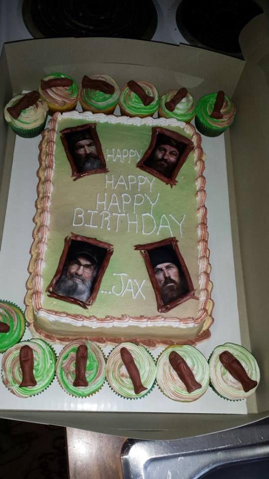 Duck Dynasty Cake & Cupcakes
