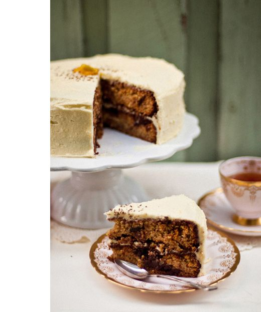 flourless orange & chocolate chunk cake | Cake -recipes | Pinterest