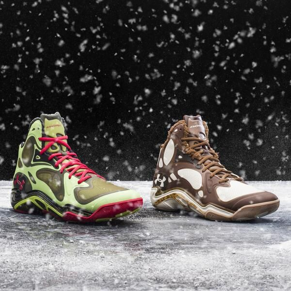 Watch Stephen Curry transform on Christmas Day in this 2-shoe Anatomix    Stephen Curry Shoes 2011