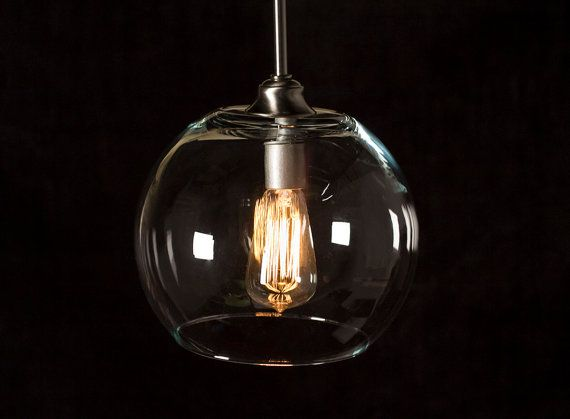 edison bulb pendant light fixture brushed nickel by dancordero. Black Bedroom Furniture Sets. Home Design Ideas