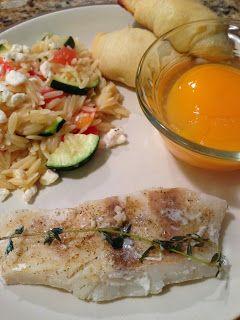 Lemon Baked Cod | The Cookin Chicks | Pinterest