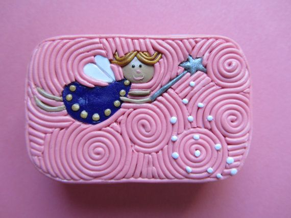 Mosaic Tooth Fairy Tin