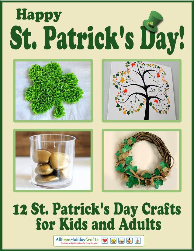 pin by allfreeholidaycrafts on st patrick 39 s day crafts