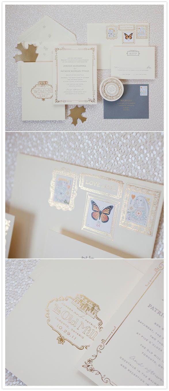 gilded frames for stamps