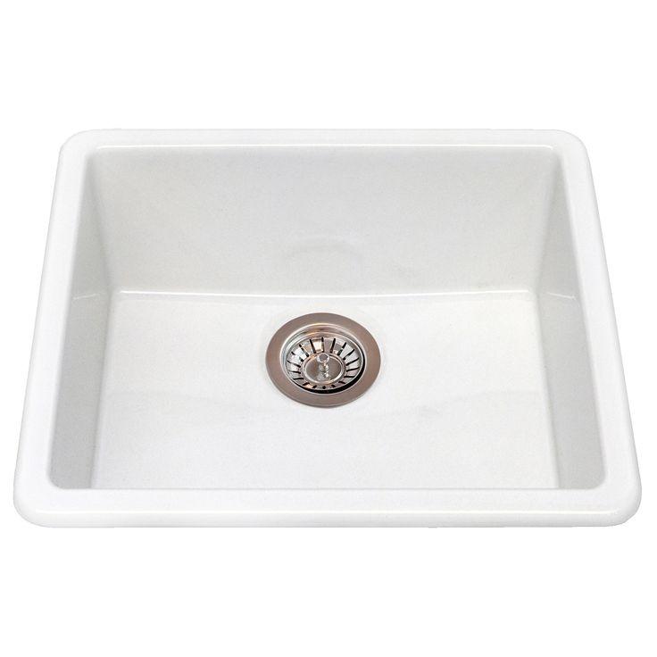 DOMSJ? Single-bowl inset sink - IKEA