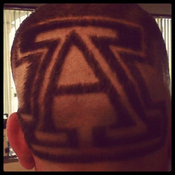 ... of Arizona | Haircuts, Designs, Beard Line-Ups, Bigen Serv