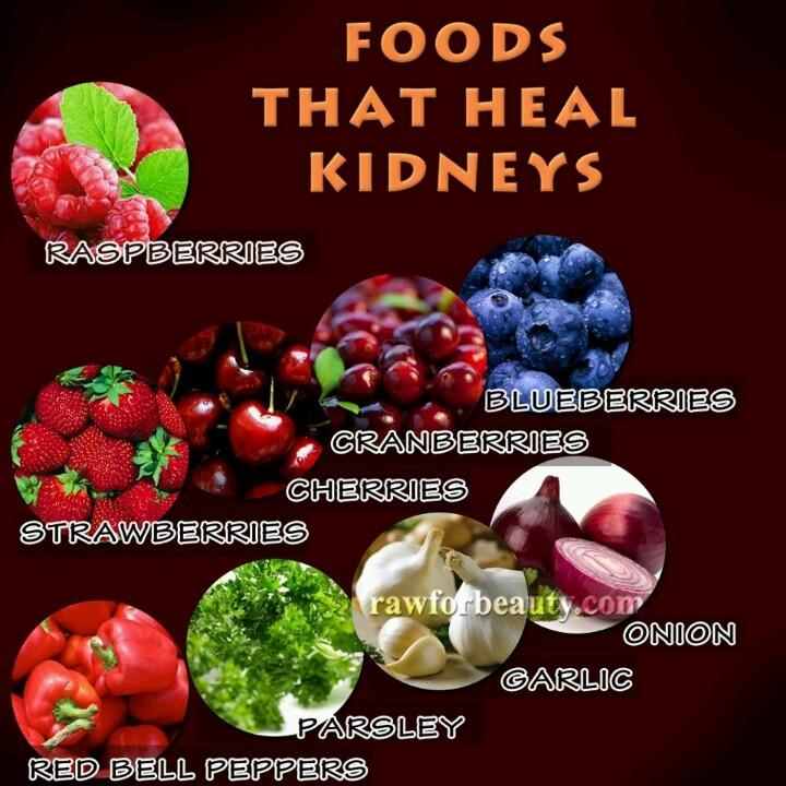 Heal the kidneys living healthier pinterest for Cuisine for healing