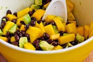 ... lime recept shrimp mango avocado black bean salad with chile lime
