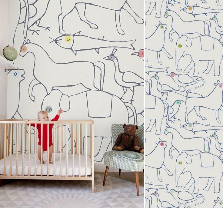 papier peint animaux minakani  Papier peint  Pinterest