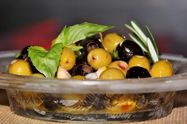 Citrus Herb Marinated Olives | Olives ~ Marinated ~ | Pinterest