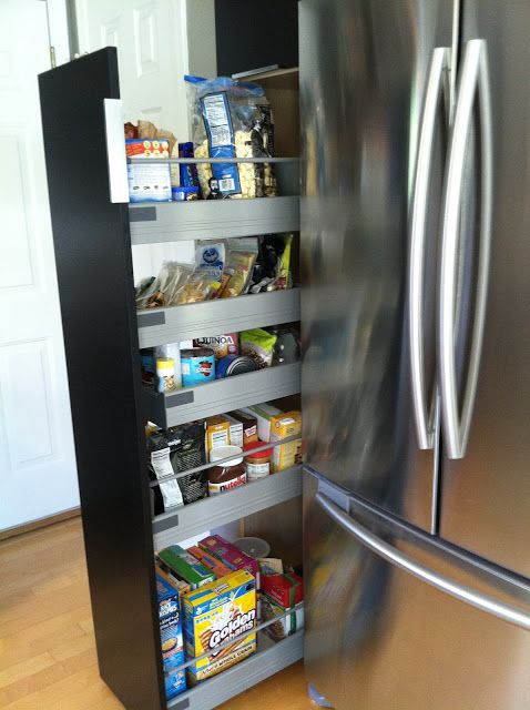 ikea pull out pantry for the home pinterest