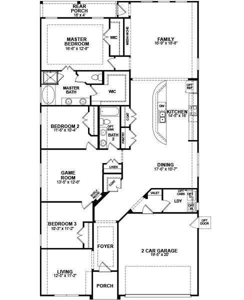 Floor Plan Beazer Homes Home Is Whenever I 39 M With You