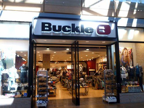 Buckle clothing store! LOVE